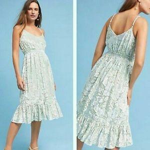 NWOT Anthro Hemant & Nandita Seagrass dress